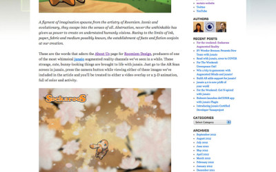 Sockaroos featured in Junaio blog